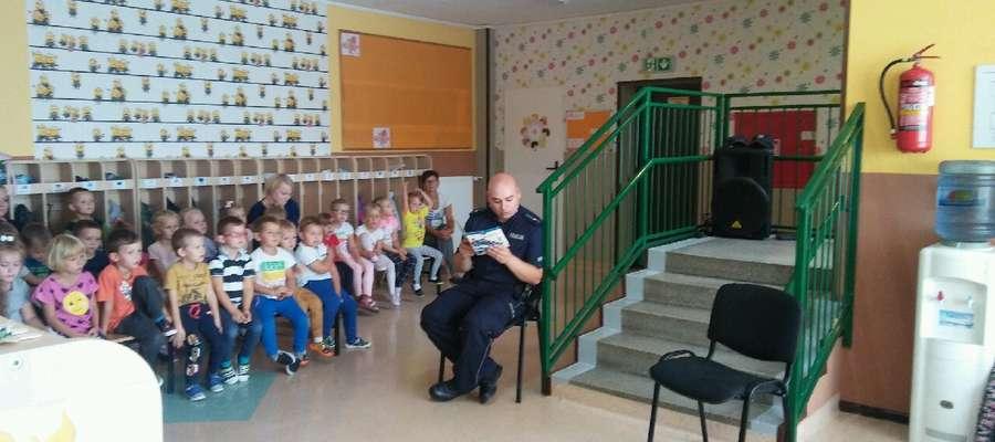 Policjanci gościli u przedszkolaków