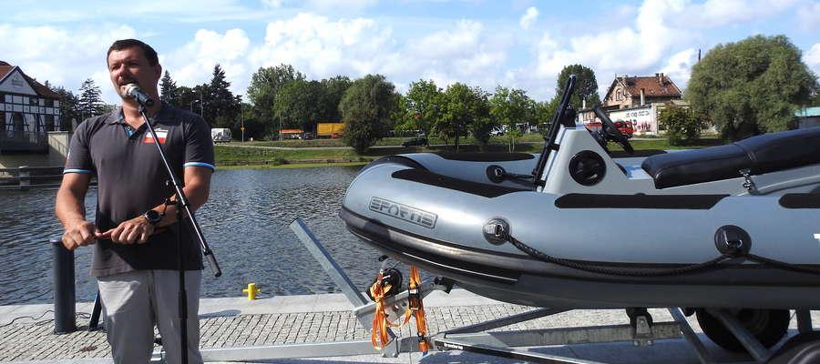 Jak zapowiada Marcin Trudnowski, projekt i budowa centrum sportów wodnych ma odkryć i wykorzystać potencjał turystyczny Zalewu Wiślanego oraz Kanału Elbląskiego