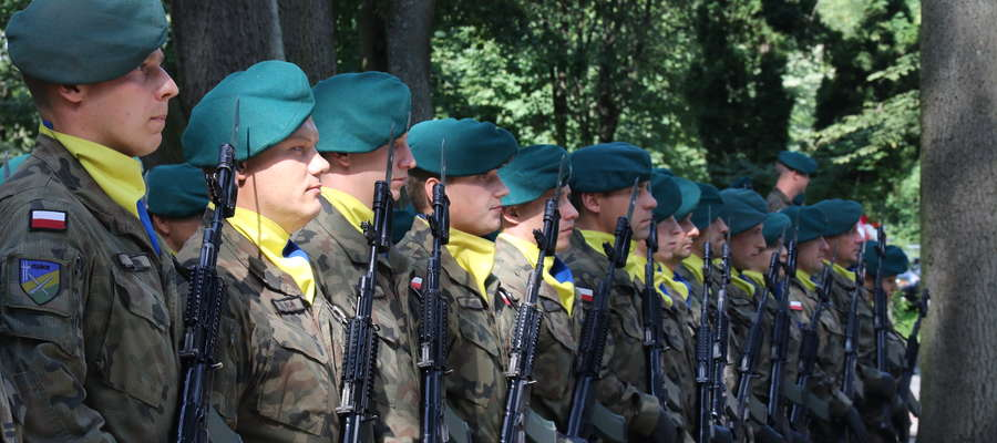 Ostatnio przy pomniku Żołnierzy AK i Sybiraków w Giżycku odbyły się uroczystości w związku z rocznicą wybuchu II wojny światowej