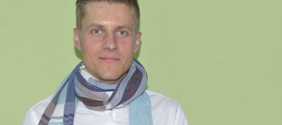 Michał Kowalewski od 1 września jest nowym kapelmistrzem Młodzieżowej Orkiestry Dętej w Iławie