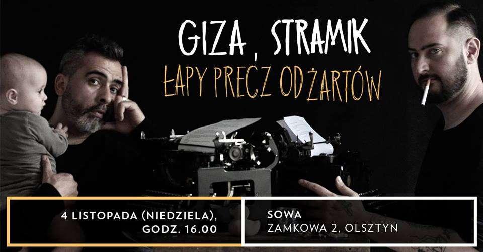 Spotkanie autorskie: Giza i Stramik Łapy precz od żartów - full image