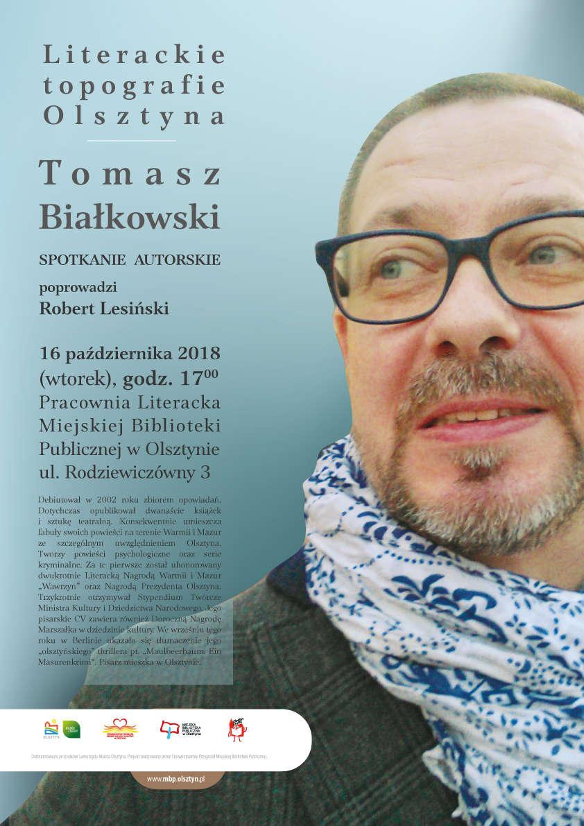 Literacka Topografia Miasta. Spotkanie autorskie z Tomaszem Białkowskim - full image