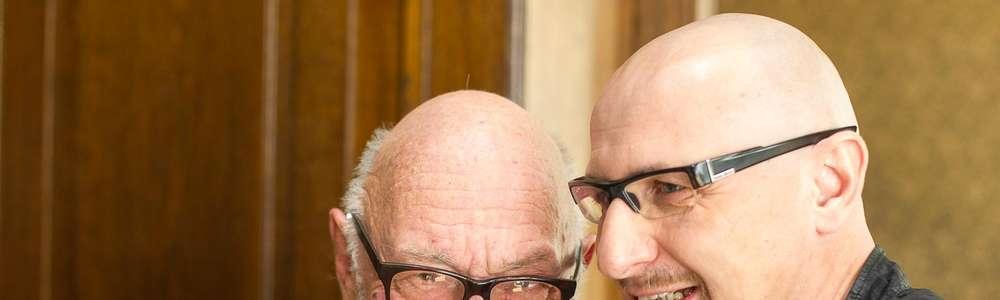 Jerzy Hoffman i Marcin Bastkowski