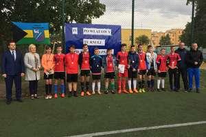 IV. Powiatowy Turnieju Piłki Nożnej Klas V-VIII Szkół Podstawowych