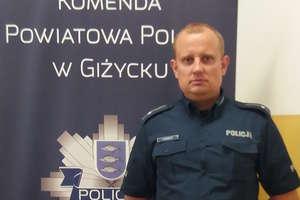 Mł. asp. Daniel Romańczyk najlepszym kierownikiem dzielnicowych z województwa warmińsko-mazurskiego