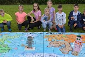 Nagrody za grę edukacyjną uczniów z Brzozia Lubawskiego