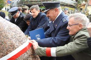W Lidzbarku Warmińskim odsłonięto obelisk upamiętniający ppłk. Jana Kowalewskiego