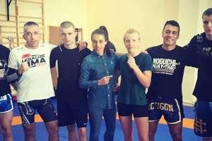 Fighterzy MMA Team Ostróda spotkali się z Joanną Jędrzejczyk