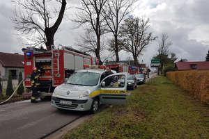 Strażacy usuwali awarię gazociągu. To były ćwiczenia