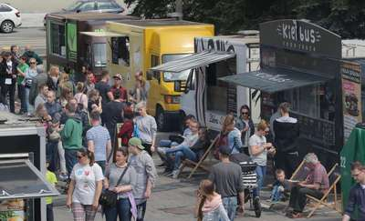 Food trucki w ten weekend opanują Iławę!