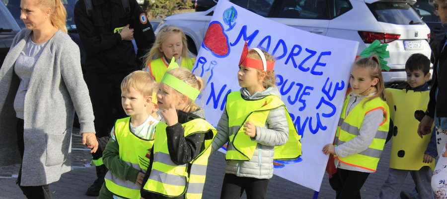 Marsz z okazji Światowego Dnia Żywności w Elblągu