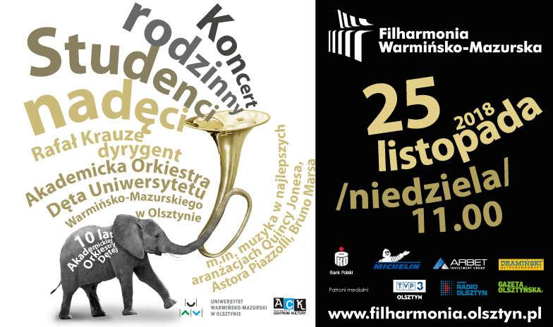 Filharmonia Warmińsko-Mazurska zaprasza na Koncert Rodzinny - full image
