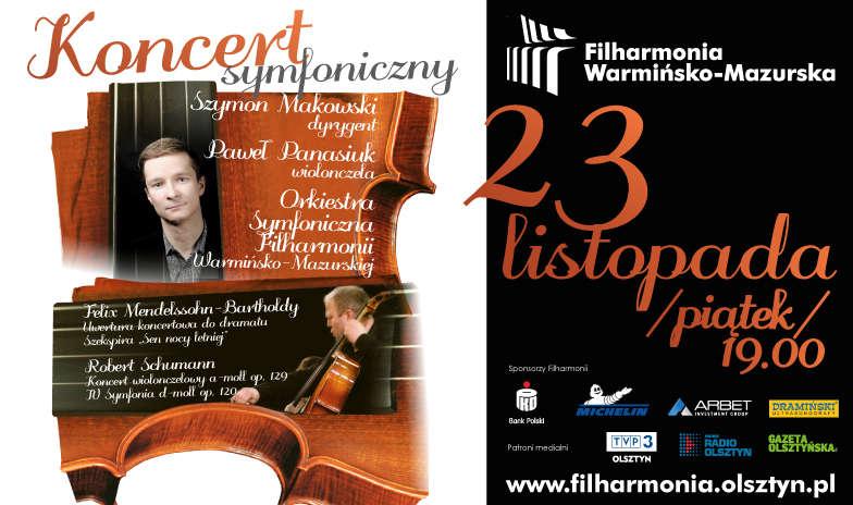 Koncert symfoniczny w filharmonii - full image