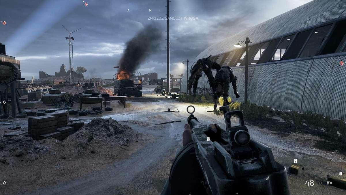 Lewitujący wrogowie w Battlefield V