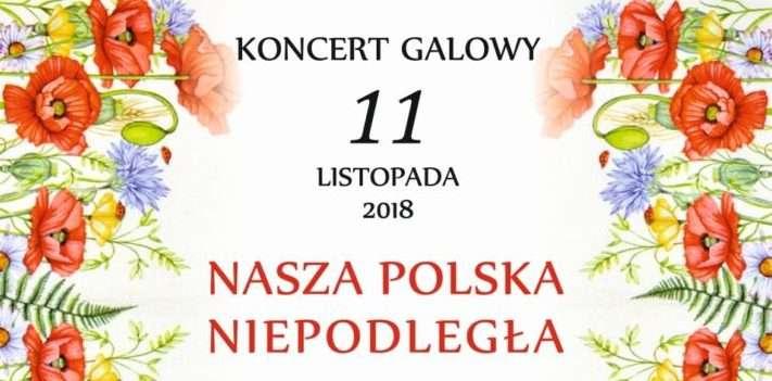 Zamkowy koncert galowy z okazji 100-lecia Niepodległości Polski - full image