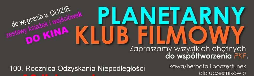 Biało-czerwony quiz filmowy i seans Planetarnego Klubu Filmowego