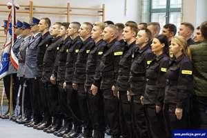 Nowi policjanci w szeregach KPP w Giżycku
