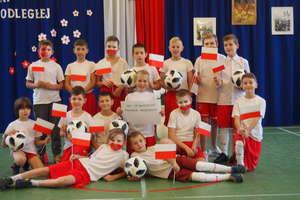 Obchody 100. rocznicy odzyskania niepodległości przez Polskę w Szkole Podstawowej w Wojciechach