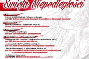 Obchody 100-lecia odzyskania przez Polskę niepodległości w Bartoszycach