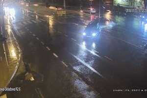 Potrącenie na przejściu dla pieszych w Olsztynie [VIDEO]