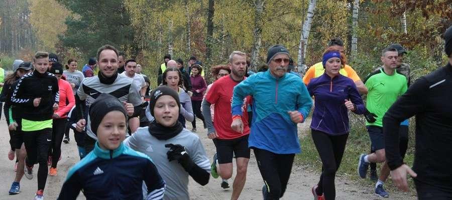 Uczestnicy Parkrun po raz kolejny ustanowili swoje rekordy życiowe