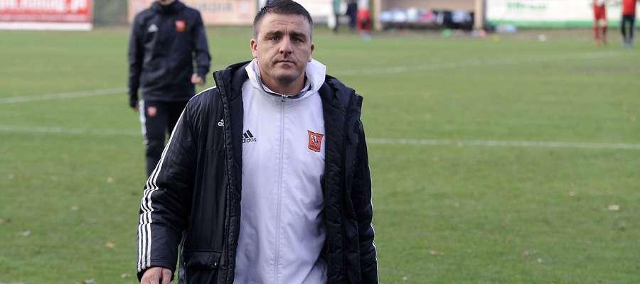 Łukasz Nadolny, trener IV-ligowej Concordii Elbląg