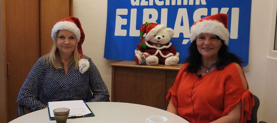 Od prawej: Izabela Malinowska i Anna Dawid (Dziennik Elbląski)