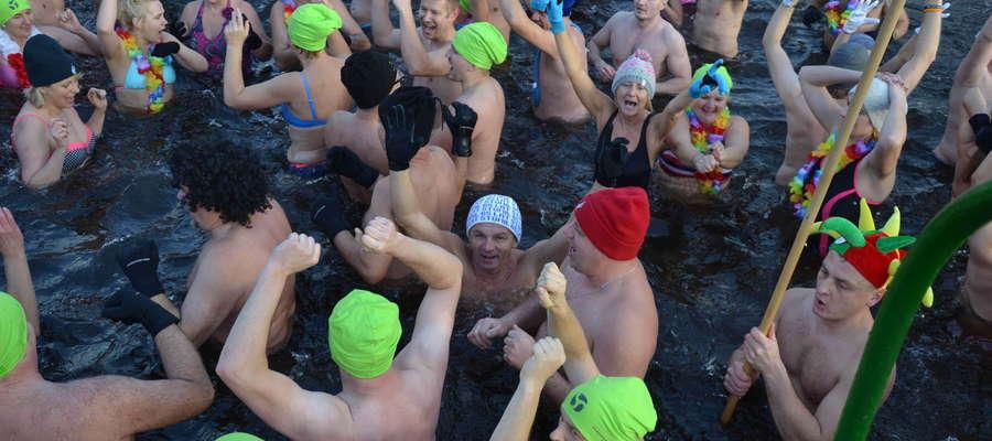 Organizatorzy liczą, że w niedzielę w Szelągu Małym wykąpie się 300 morsów