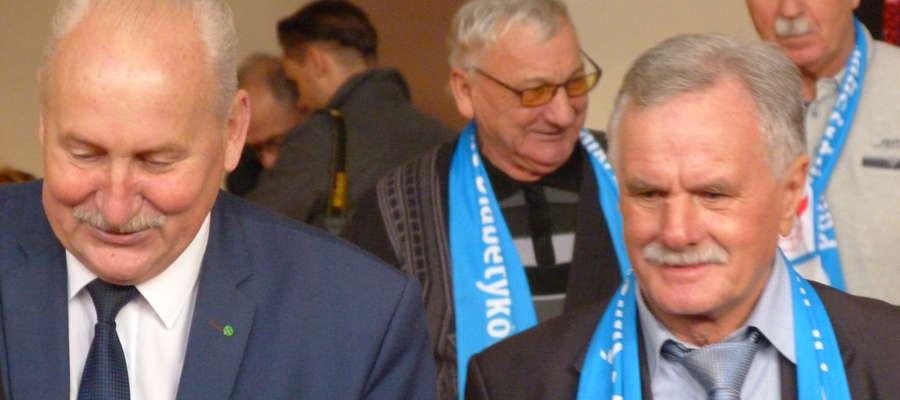 Marszałek Gustaw Brzezin i Władysław Kubiński