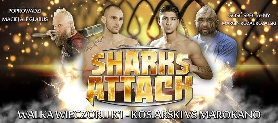 W karcie walk Gali Sportów Walki Sharks Attack jest 12 pojedynków