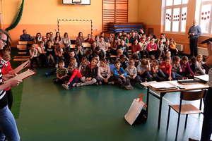 """Redakcja """"Gazety Nowomiejskiej"""" przeniosła się na chwilę do szkoły w Brzoziu Lubawskim"""