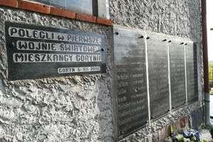 Niezwykła historia tablic z Gorynia. Czekały lata na odkrycie! [ZDJĘCIA]