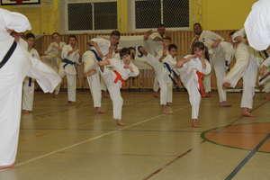 Karatecy odbyli kolejny egzamin. Łatwo nie było, ale wszyscy zdali