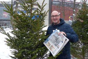 Świąteczne drzewka rozdane [WIDEO, ZDJĘCIA]. Dziękujemy za udział w akcjii życzymy Wesołych Świąt!