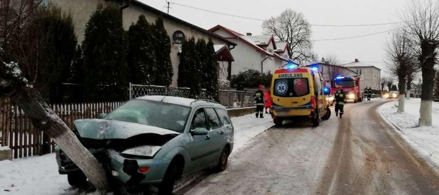W minimy weekend na terenie naszego powiatu doszło o czterech zdarzeń drogowych