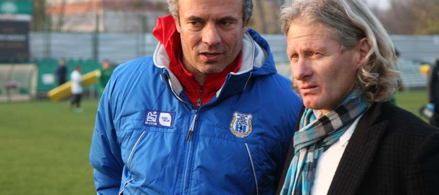 Sylwester Czereszewski i Piotr Zajączkowski