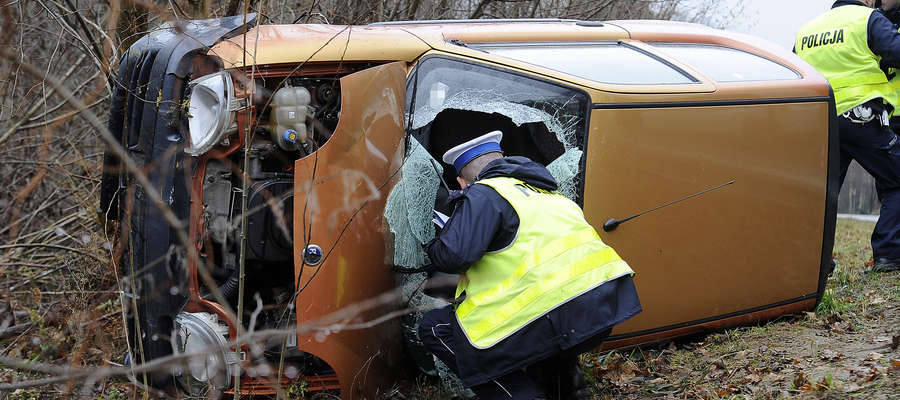 Wypadek w Kamionku Wielkim