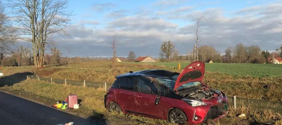 Wypadek w Runowie