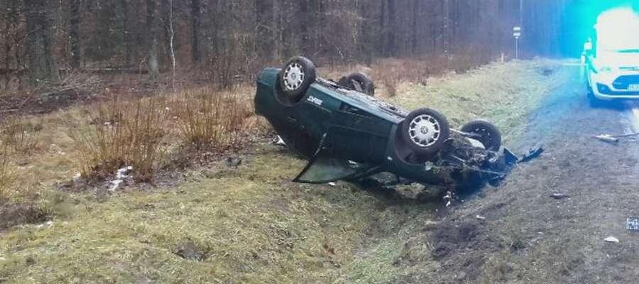 Wypadek pod Miłogórzem