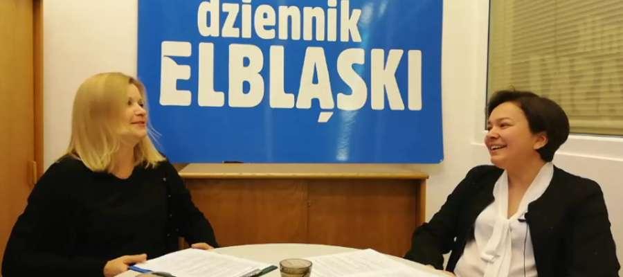 Od prawej: Joanna Urbaniak i Anna Dawid (Dziennik Elbląski)