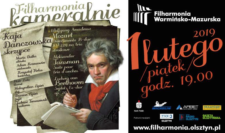 Koncert z cyklu filharmonia-kameralnie - full image