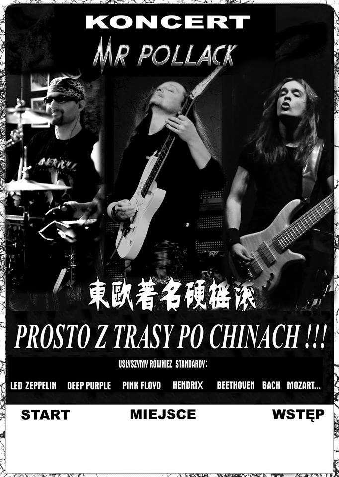 Mr. Pollack - live in Sowa: koncert odwołany z powodu żałoby narodowej - full image