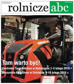 Rolnicze ABC - styczeń 2019