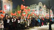Elblążanie solidarni z Jurkiem Owsiakiem i Orkiestrą [zdjęcia]