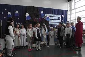 Jasełka w Szkole  Podstawowej w Żydowie