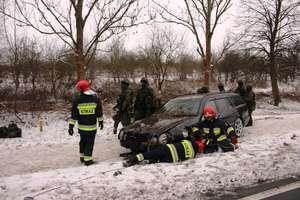 Trzy wypadki na drogach naszego powiatu