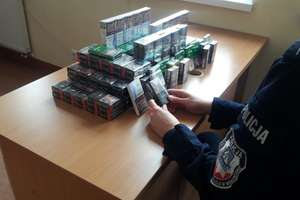 Ponad trzy i pół tysiąca sztuk nielegalnych papierosów