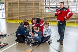 Ratownicy odwiedzili specjalny ośrodek szkolno-wychowawczy