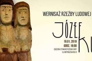 Wystawa rzeźby Józefa Kuleszy, nieżyjącego twórcy ludowego z Nowej Wsi