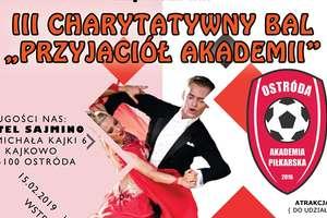 Polecamy bal AP Ostróda, można potańczyć i pomóc małym piłkarzom